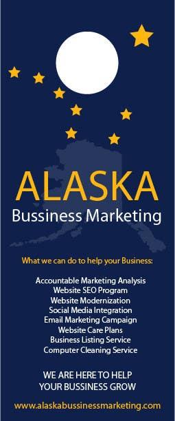 Inscrição nº 2 do Concurso para Design an Advertisement for Alaska Business Marketing