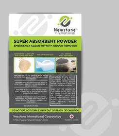 chubbycreations tarafından Create Print and Packaging Designs for Liquid Solidifier Absorbent için no 1