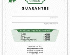 #14 for Design a customer guarantee form af ssergioacl