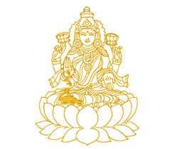 Nro 12 kilpailuun Elegant Business Logo consisting of Hindu Goddess Mahaalakshmi käyttäjältä Amtfsdy