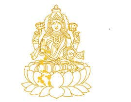 #14 para Elegant Business Logo consisting of Hindu Goddess Mahaalakshmi por Amtfsdy