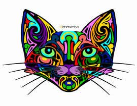 dimmensa tarafından I need some Graphic Design for 60's based artwork - Cat's head için no 24