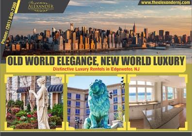 Nro 4 kilpailuun Design an Advertisement for Luxury Building Postcard käyttäjältä rajkumar3219