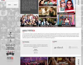 #14 for Template Wordpress for Photography Services / Template para wordpress para aluguel de cabine fotográfica af seguro