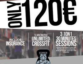 #35 for Ontwerp een Advertentie for Crossfit Hasselt af hikaruaozora