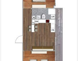 #20 for 2D apartment project af vlangaricas