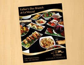 dinesh0805 tarafından Design a Flyer for Restaurant Fathers Day Event için no 10