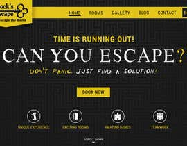 "#19 for Build a html Website for an ""Escape The Room"" company. by Xatex92"