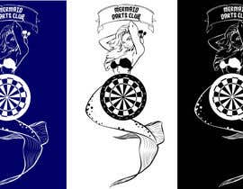 #39 cho Design a Logo for MERMAID DART CLUB bởi pajazit