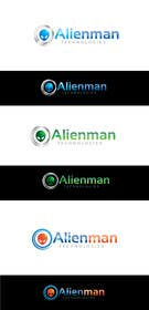 #62 para Design a Logo for Alienman Technologies por paxslg