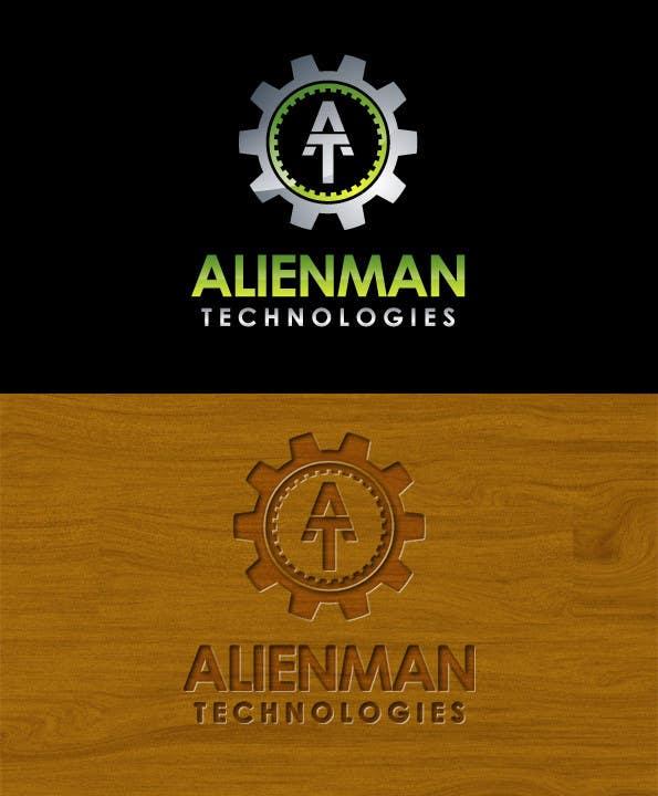 Penyertaan Peraduan #54 untuk Design a Logo for Alienman Technologies
