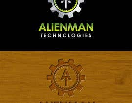 #54 para Design a Logo for Alienman Technologies por sproggha