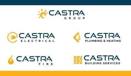 chubbycreations tarafından Design a Logo for Castra Group of companys için no 77