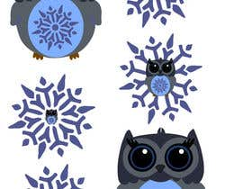 TeamPK tarafından Need some loving snowflake+owl graphics for my wedding için no 16
