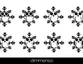 dimmensa tarafından Need some loving snowflake+owl graphics for my wedding için no 11