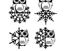 dimmensa tarafından Need some loving snowflake+owl graphics for my wedding için no 13