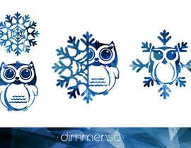 dimmensa tarafından Need some loving snowflake+owl graphics for my wedding için no 14