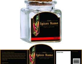#7 for Create Label Design for Squared Jar af rinintatri