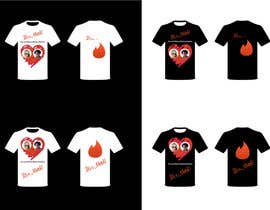#1 untuk T-Shirt design No.5, Tinder Logo + It`s a match with distribution rights, original, long term relationship oleh NatasaZorko