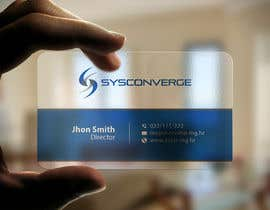 #57 untuk Design some Business Cards for Sysconverge oleh imtiazmahmud80