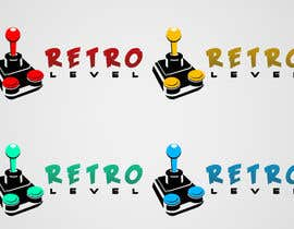 #19 untuk Design a Logo for «Retro Level» (retro gaming website) oleh benhammouanas
