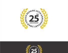 #57 untuk 25th Anniversary Logo oleh asadhanif86