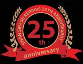 Nro 45 kilpailuun 25th Anniversary Logo käyttäjältä tariqaziz777
