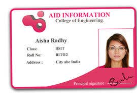 #55 for College ID Card design by KhawarAbbaskhan