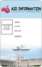Nro 23 kilpailuun College ID Card design käyttäjältä akritidas21