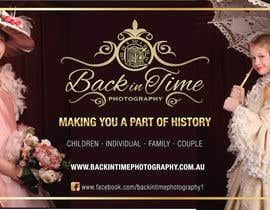 #1 untuk Design a Poster for Back in Time Photography (further work guaranteed, I need more posters) oleh andreabatiz