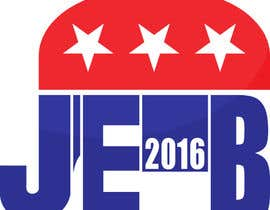 #123 para Redesign the campaign logo for U.S. presidential candidate Jeb Bush por Dejv5746