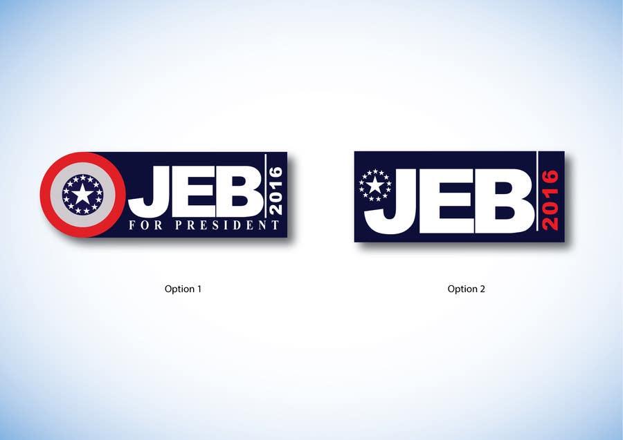 Inscrição nº 103 do Concurso para Redesign the campaign logo for U.S. presidential candidate Jeb Bush
