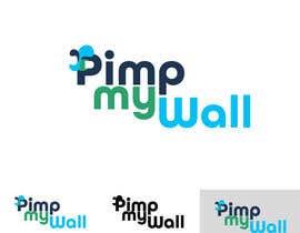 #30 untuk Zaprojektuj logo for pimpmywall oleh xsquarepl