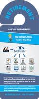 Miniatura da Inscrição nº 5 do Concurso para Design a Brochure for a Door Hanger- Investments and Business Services
