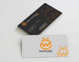 #32 para Design some Business Cards for Wrapcart.com por mahiweb123