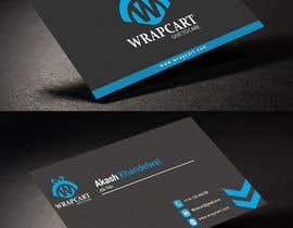#16 para Design some Business Cards for Wrapcart.com por rahabikhan