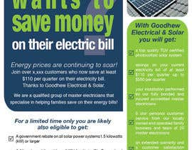 #11 for Advertisement Design for Goodhew Solar & Electrical by angelabreyes