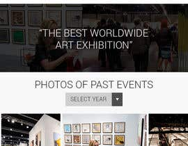 #13 for Design Landing Page, Responsive Landing Page & Overall Theme for Art Fair Website af juniorreyyes