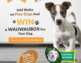 #10 para Walk for dogs contest: Need a Flyer por Creativeapes1
