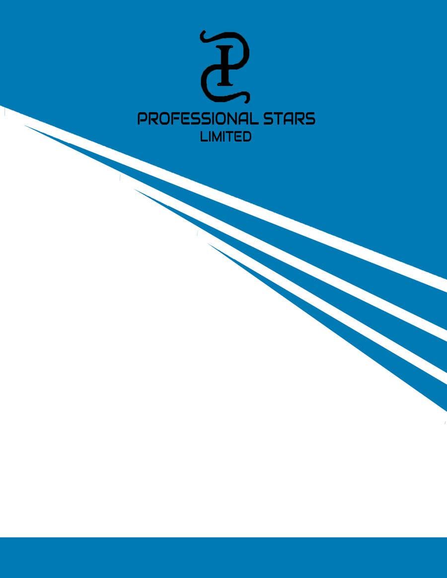 Penyertaan Peraduan #15 untuk Professional Stars Limited- Brand Design and Company Profile