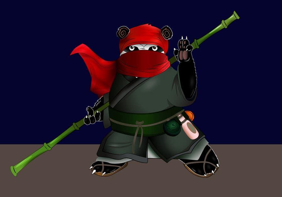 Contest Entry #                                        15                                      for                                         Mascot Design for Ninja Panda Designs