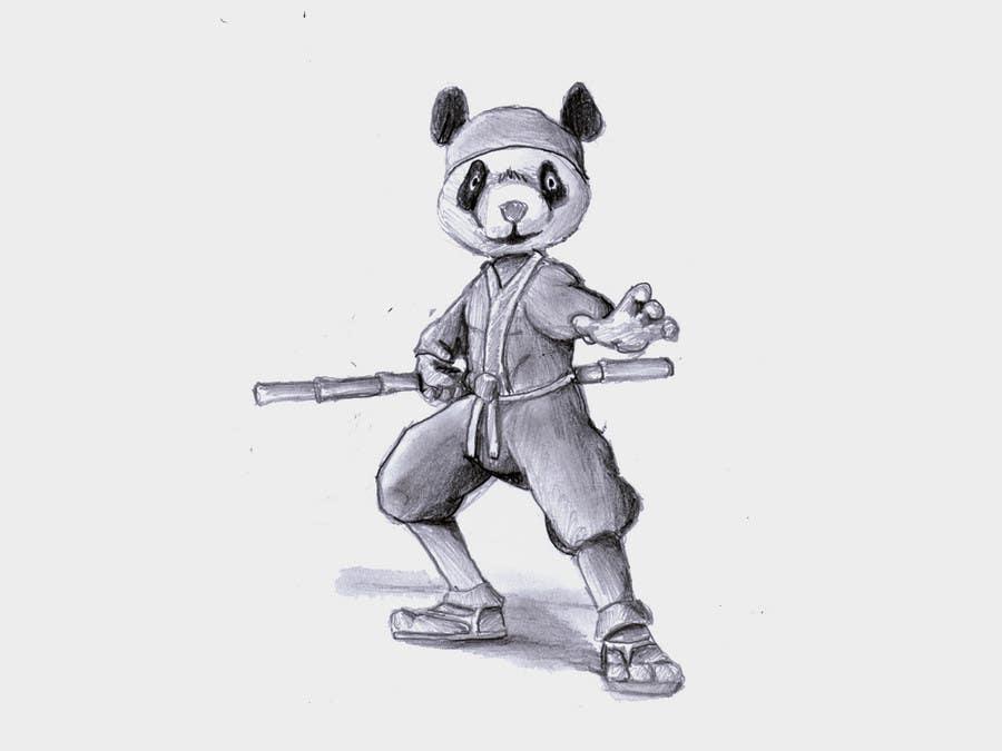 Natečajni vnos #                                        5                                      za                                         Mascot Design for Ninja Panda Designs