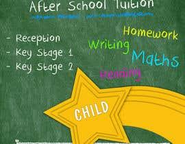 Nro 1 kilpailuun flyer for a after school tuition. käyttäjältä Chintogtoh