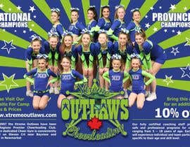 #2 untuk Design a Print Ad for Cheerleading school oleh mohitjaved