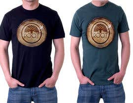 "nº 59 pour Design T-shirt for fashion brand ""Root"" Sustainable Wooden Accessories par Saadyarkhalid"