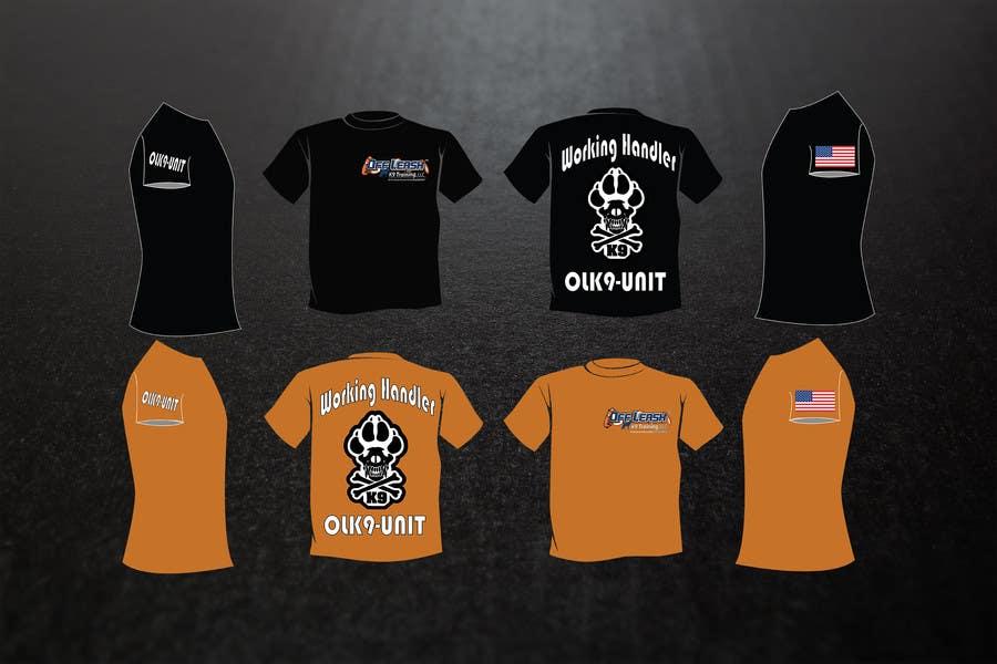 Penyertaan Peraduan #31 untuk Design a T-Shirt for Off Leash K9 Training