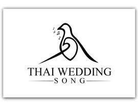 "#10 untuk Design a Logo for ""Thai Wedding Song"" brand oleh seabitmedia"