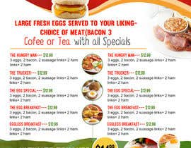 #14 cho Design a Restaurant Menu For Breakfast bởi ramandesigns9