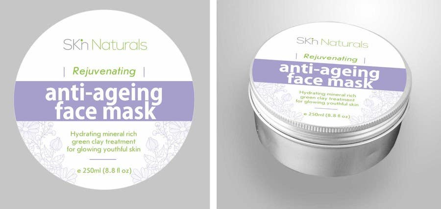 Konkurrenceindlæg #44 for Create Print and Packaging Designs for Natural Skincare Product