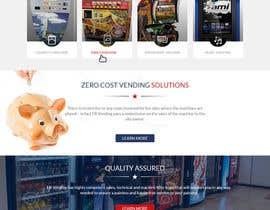 Nro 11 kilpailuun Design a responsive wordpress Mockup for FB Vending käyttäjältä lacrymosh